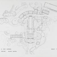 Blake Estate: Long Range Development Plan, plan for a test garden