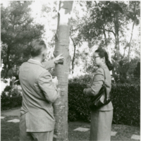 Blake Garden: Mai Arbegast and unknown person
