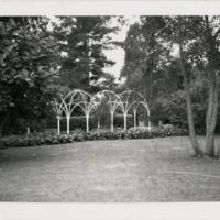 Blake Garden: Student competition rose trellis