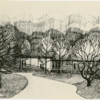 Blake Estate: Long Range Development Plan, building sketch