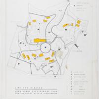 Blake Estate: Long Range Development Plan, land use diagram