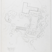 Blake Estate: Long Range Development Plan, rose garden area 1