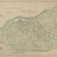 Blake Estate, Landscape plan
